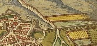 L'aqueduc alimentant en eau Marseille, au Nord-Est de la ville