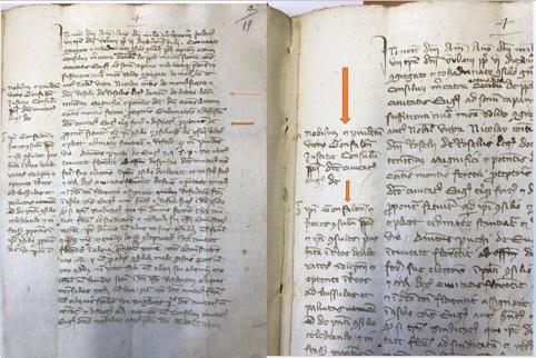 Sezione Archivio di Stato di Gubbio, Riformanze, n. 11, c. 19r.