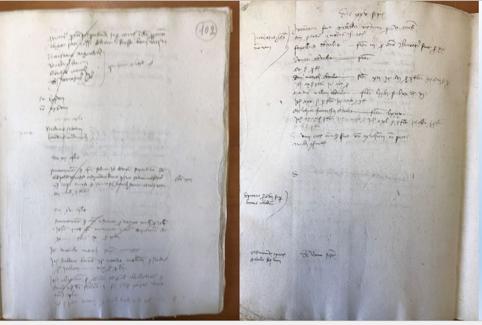 Sezione Archivio di Stato di Gubbio, Riformanze, n. 12.